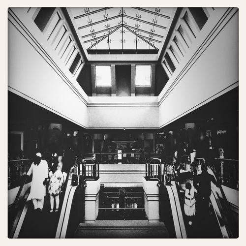 Symmetry Symmetrical Architecture Black & White