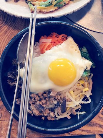Yummy Food Korea Traditional Food 비빔밥 Delicious