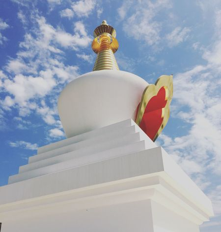 Stupa Buddhism Spiritual Energy Motivation Sky And Clouds EyeEm Best Shots Outdoor Photography Places I Love