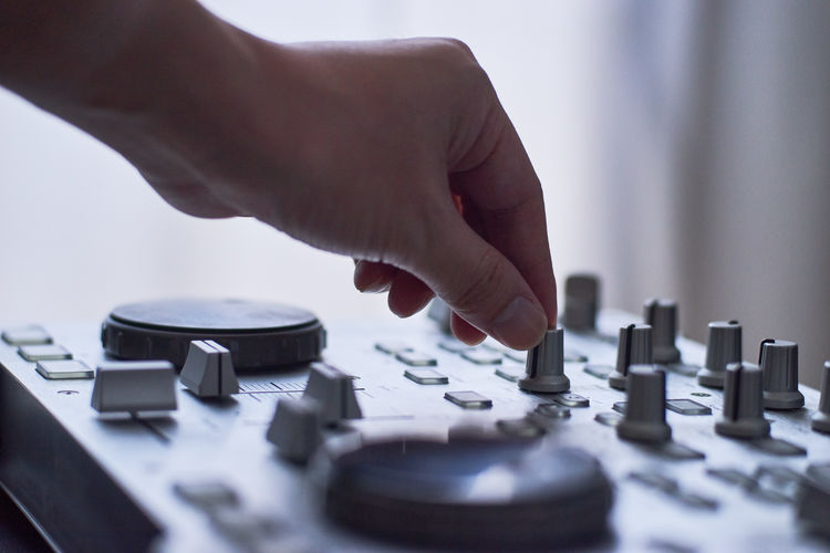 Dj Arts Culture And Entertainment Body Part Club Dj Dj Finger Hand Human Body Part Human Finger Human Hand Indoors  Leisure Activity Men Mixing Music Nightlife One Person Playing Real People Record Selective Focus Technology Turntable