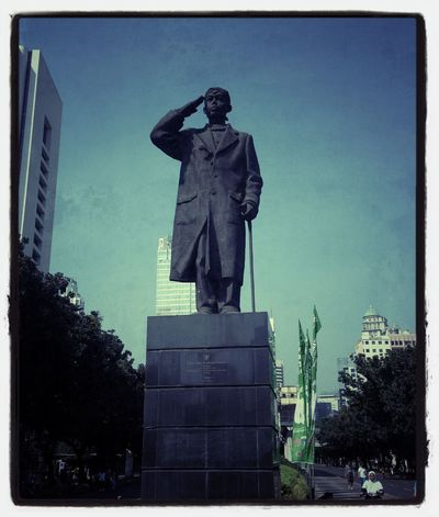 patungjendralsudirman Sudirman Patung Monumen Jakarta