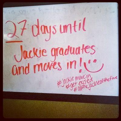 The countdown continues! AllOfTheJackieAllOfTheTime