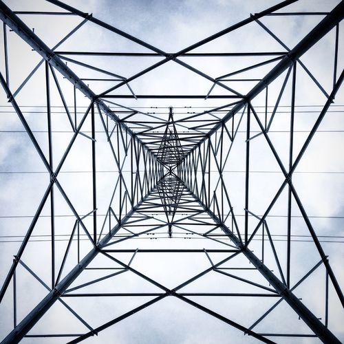 Connection Power Supply Sky Electricity  Fuel And Power Generation Built Structure No People Pattern Electricity Pylon Architecture Cable Power Line  Digitally Generated Outdoors Day