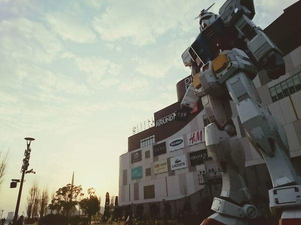 大鋼彈 鋼彈 Diver City Tokyo Japan Tokyo 台場 Diver City