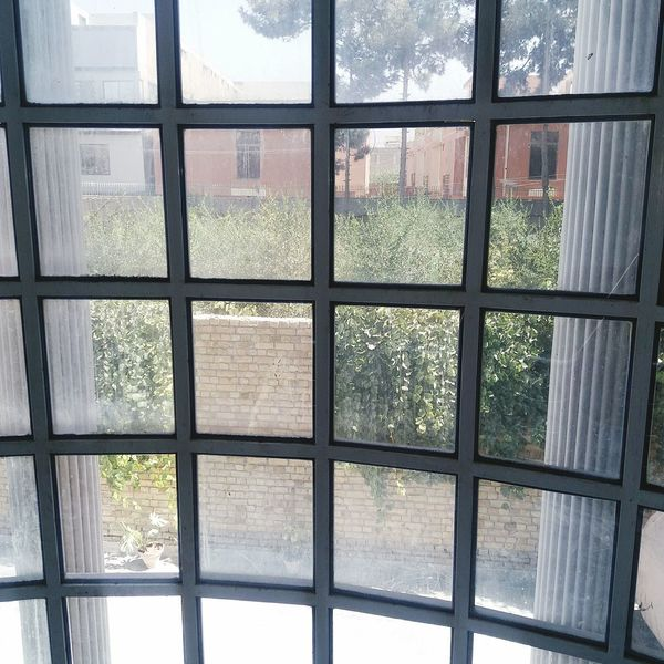 Window Glass - Material Indoors  Frosted Glass No People Day Metal Grate Architecture Close-up Outdoors Heart Shape Microphone Technology Beauty In Nature Low Angle View Freshness Furniture Front View Indoors