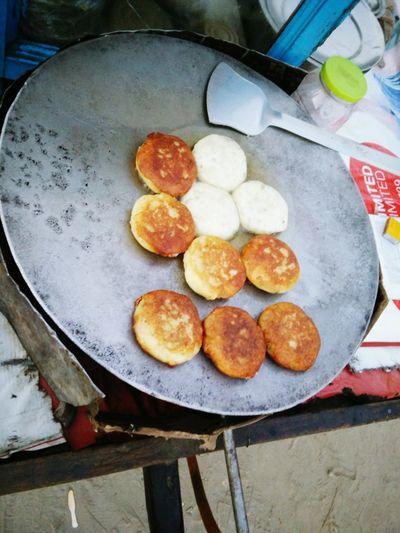 Street Food Worldwide Snack Time! Aloo Tikki Tikkamasala