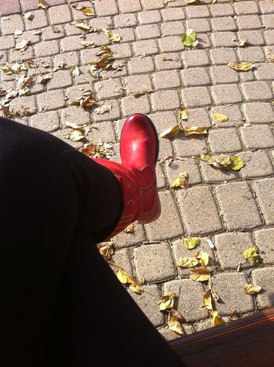 Lifestyles Person Red Shoe