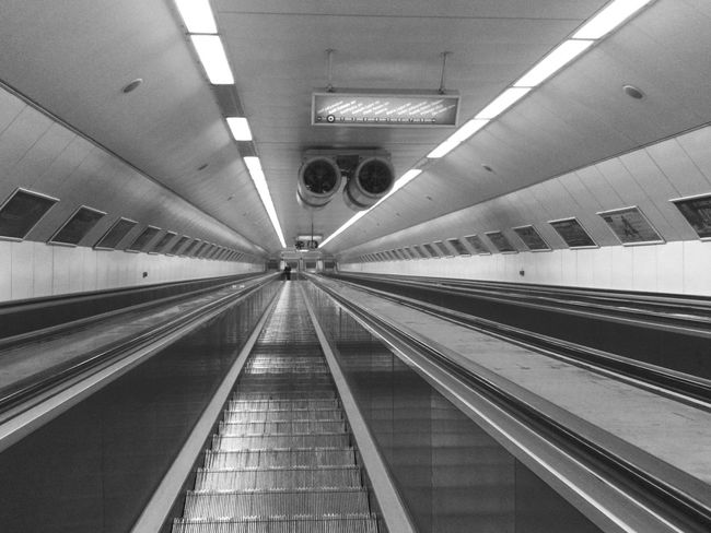Highway to... Taking Photos Budapest Hungary Moszkva Tér Escalator EyeEm Gallery EyeEm Best Shots City Darkness And Light Black And White Night Budapest, Hungary Battle Of The Cities City at Night Metro Underground Neighborhood Map