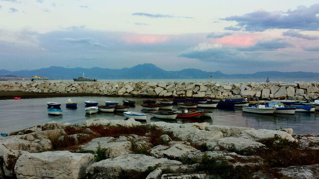 Barchetta Outdoors Sky Napoli Mare Golfo Di Napoli