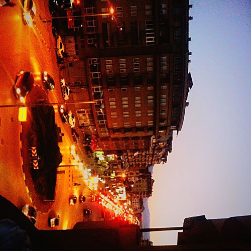 My Home, City Street City Street City Life Outdoors Nightiscoming Illuminated Residential District