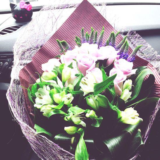 Happy Valentine's Day Love Enjoying Life Flowers HongKong
