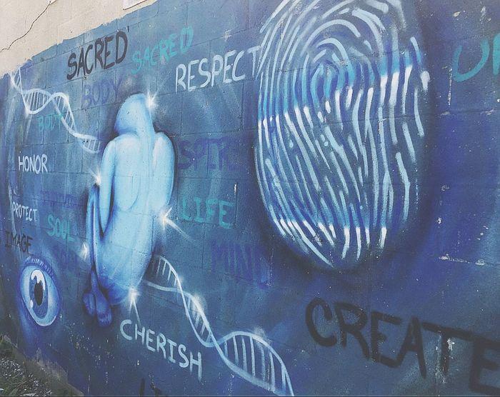 Wall Art Art, Drawing, Creativity Graffiti Mental Health  Mental Health Awareness Outdoor Photography Outdoors Street Art