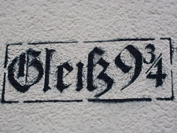 German Language Harry Potter Close-up Communication Day Hogwards Ink No People Outdoors Text Textured