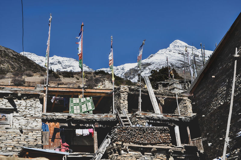 Annapurna Conservation Area Nepal Trekking Rural Scene Village Colourful Snow Cold Temperature Mountain Winter Mountain Range My Best Photo The Art Of Street Photography Stay Out