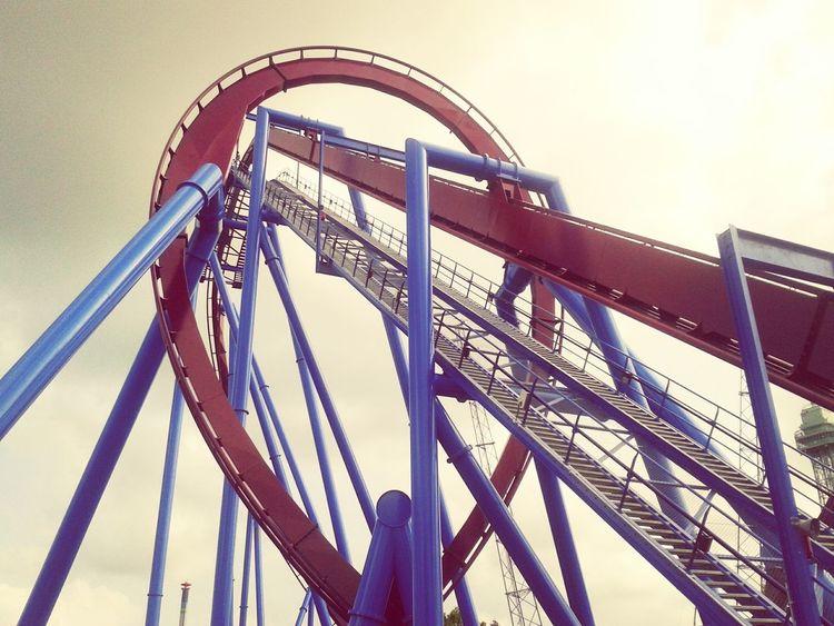 Kings Island Roller Coaster Rollercoaster Themepark Loop Looping