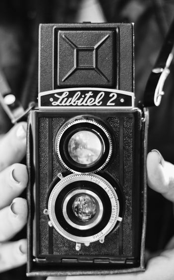 EyeEmNewHere EyeEm Best Shots EyeEm Gallery Eyeem Black And White Blackandwhite Black Black & White Blackandwhite Photography Siyah&beyaz  Siyahbeyazfoto Lulitel2 Human Hand Photography Themes Technology Camera - Photographic Equipment Music Old-fashioned Arts Culture And Entertainment Holding Close-up Photographic Equipment Analog Vintage Retro Lens - Optical Instrument