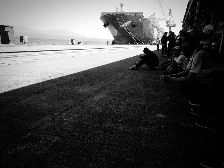 Ship Building Ship Yard Hanjin Subic Philippines First Eyeem Photo Worker