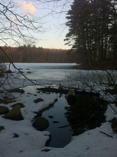 Water Reflections Enjoying Nature Frozen Water Hello World