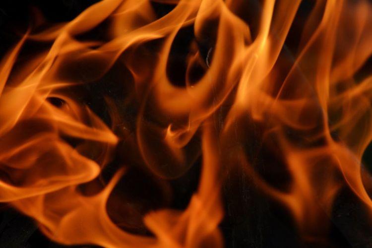 Flame Fire Hot Macro Photography Nikon D5200