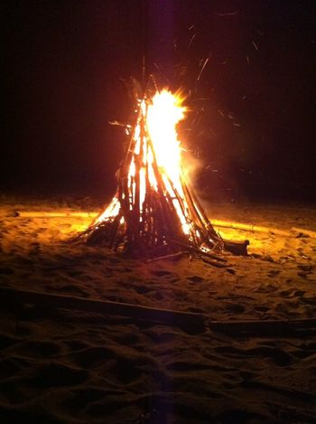 Fire Nightphotography Woodfire Beach Relaxing Puerto Rico Enjoying Life Beachlovers