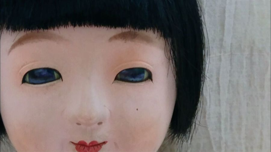 そして、この子は菊音「きくね」 日本人形 市松人形 Ichimatsu Japanesedoll