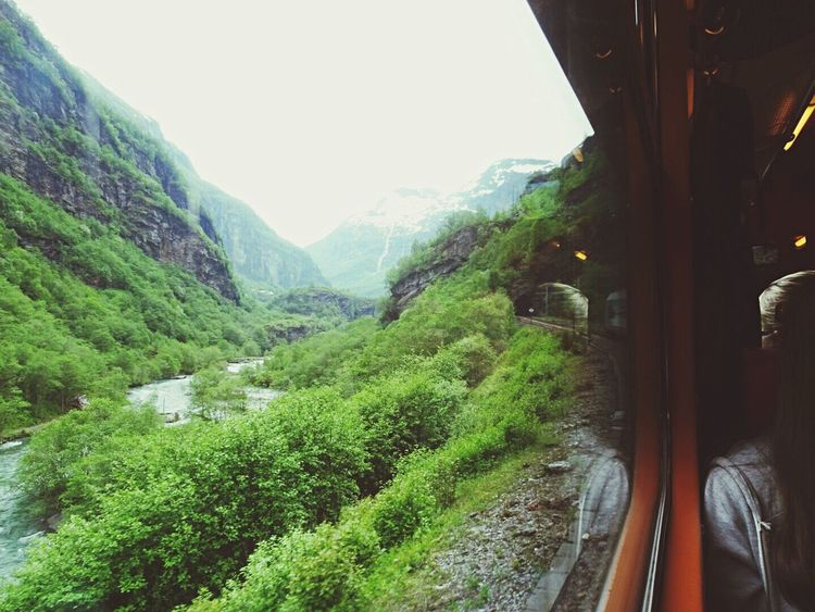 My Commute Norway Flåm Fjords Mountains Train