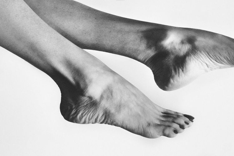 barefoot Close-up Day Human Body Part Human Hand Human Leg Low Section One Person Outdoors People Studio Shot White Background This Is Masculinity