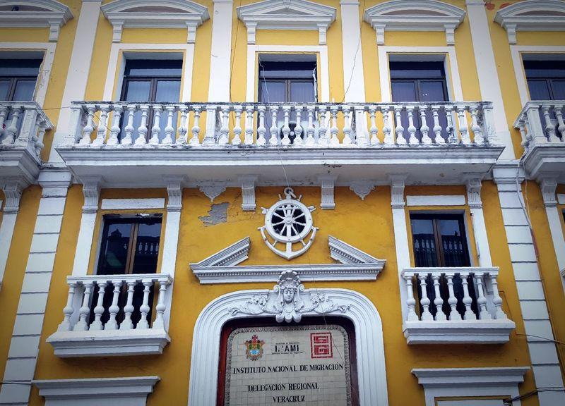 Façade Memory Veracruz Mexique