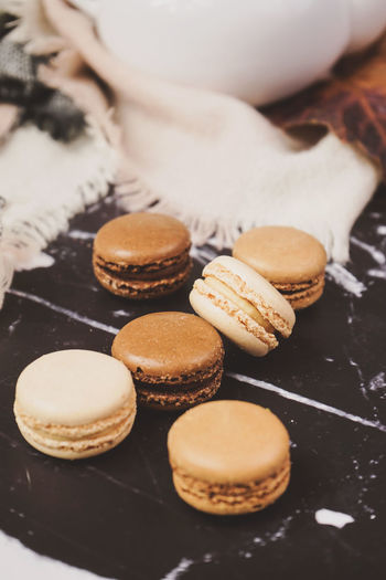 Food And Drink Food Freshness Sweet Food Baked Preparation  Indulgence Temptation Still Life Sweet Preparing Food Close-up One Person Hand Human Hand Ready-to-eat Dessert Unhealthy Eating Macaroon Snack Tray Baking Sheet Macarons French Food Indoors