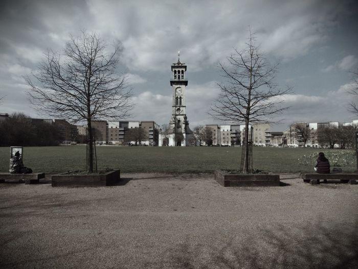 Clock tower, North London. 21-03-16 Steve Merrick Stevesevilempire Olympus Zuiko London Clock Tower Clock North London