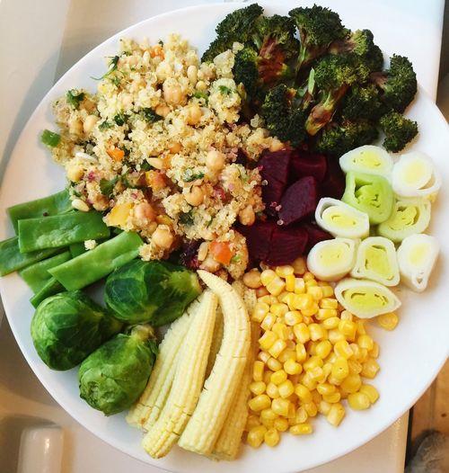 Healthy Food Dinner Meal Vegan Cooking