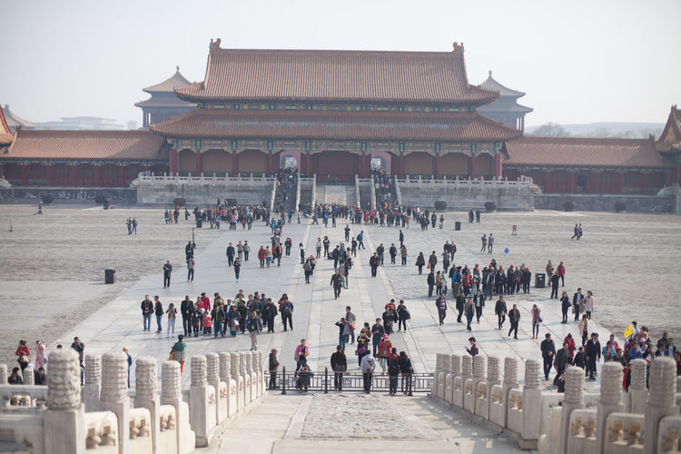 View of Forbidden City