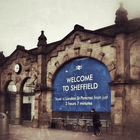 Welcome to Sheffield! Bici Britain Streetphotography Greatbritain People Englanduk Candid Southyorkshire Bike Kingscross Portrait Station Yorkshire Bicicleta Bicycle Streetphoto London Trainstation Sheffield England