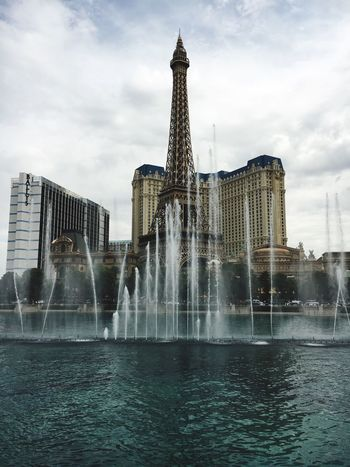 Fountains Of Bellagio Water Eiffel Tower Replica Las Vegas Travel Destinations