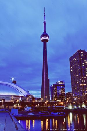 The CN Tower. Travel Eye4photography  Architecture NEXTshotPhotos