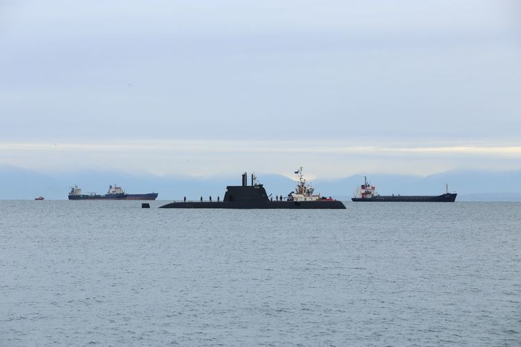 The submarine in Thermaic Gulfport, Thessaloniki Greece First Eyeem Photo
