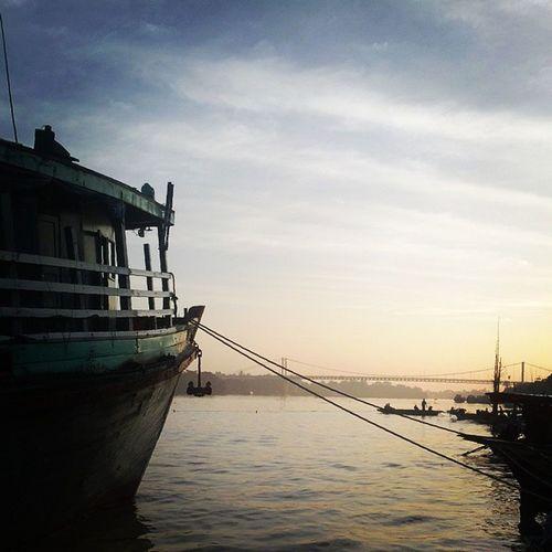 Wakema Myanmar Igersmyanmar Habour river