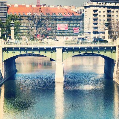 Bridge Bridges Wien Wienmitte Wienfluss vienna architecture