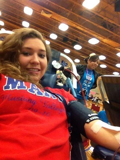 Giving Blood