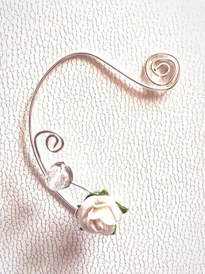 New Ear Cuff Flower Hand Made Jewelry Jewelry I send my jewelry in every corner of the world. to order: chris7oceans@gmail.com