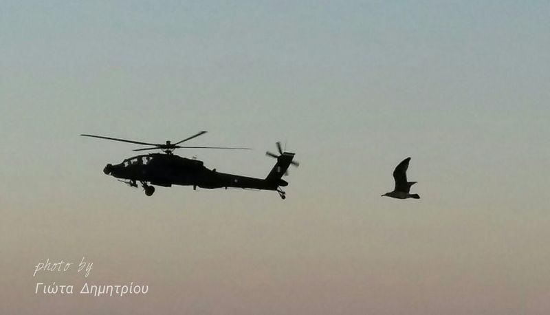 Apache Helicopter Kavala Photoart