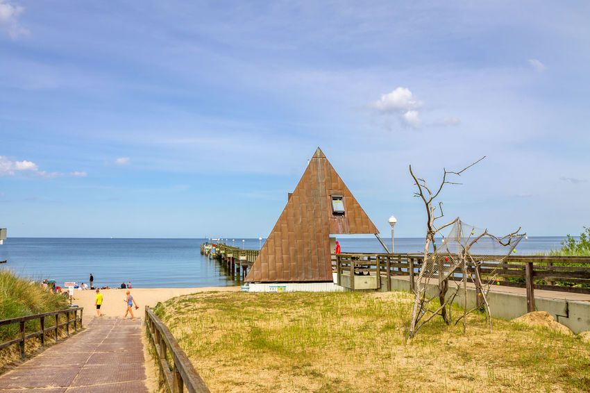 Koserow, Baltic Sea Koserow Baltic Sea Sea Bridge Landscape Nature Nobody No People Clouds Mecklenburg-Vorpommern Germany Travel Travel Destinations Family Swimming Vacations Architecture Day
