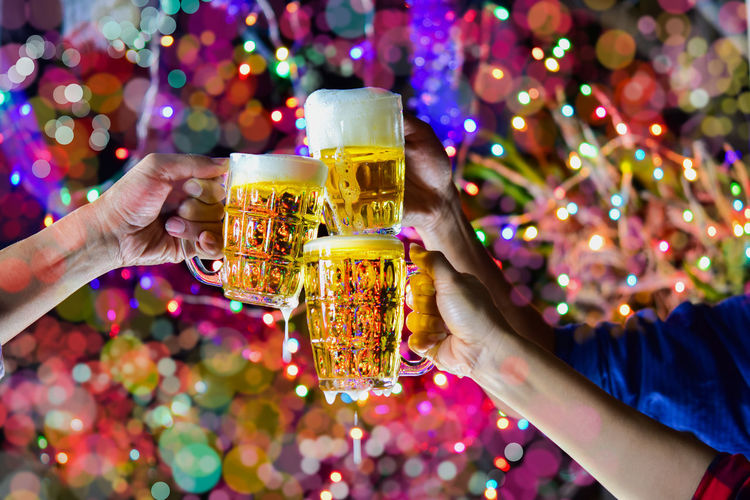 Adult Alcohol Celebration Celebratory Toast Drink Drinking Glass Finger Focus On Foreground Food And Drink Glass Group Of People Hand Holding Human Body Part Human Hand Leisure Activity Lifestyles People Real People Refreshment Women