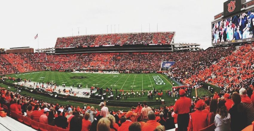 Large Group Of People Men Person Lifestyles Leisure Activity Crowd Standing Casual Clothing Togetherness City Life Retail  Spectator Culture Façade Tourism Day Auburn Auburn University Auburn Football Field Auburn Tigers The Color Of Sport