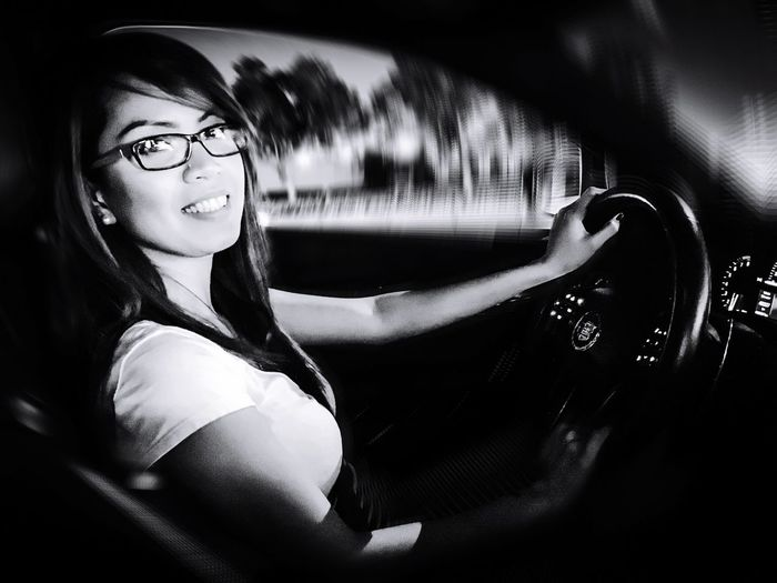 Eyeglasses  Young Women Lifestyles Woman Driver Cadillac CTS V