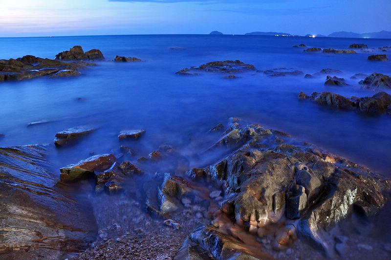 Blue Hour Beach