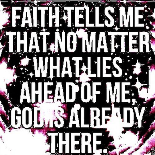 Faith God Me Life
