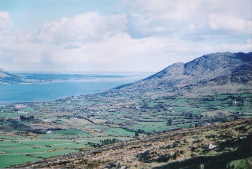 Northern Ireland, UK The Great Outdoors - 2016 EyeEm Awards Showcase March 35mm Film Analogue Photography Film No Filter View Nature Green Hills Ireland Travel Olympus OM-1 Nostalgia Filmisnotdead Natural Light Film Photography Northern Ireland Ireland Green Hills Faded Color Vintage Look Nostalgic  Travel Adventure