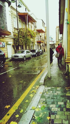 Rainy day ( autumn ) Rainy Days Streetphotography Autumn🍁🍁🍁 By Me 👆