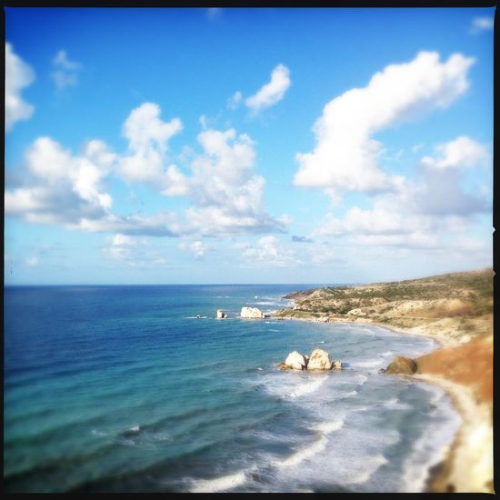 Ocean Sunny Day Sunny Sunny☀ Afrodite Rock Legend